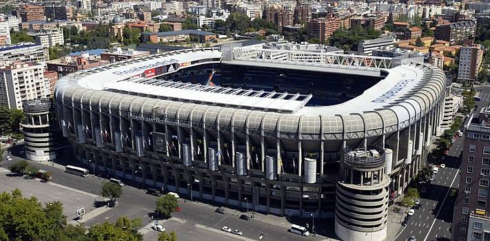 El estadio del Real Madrid